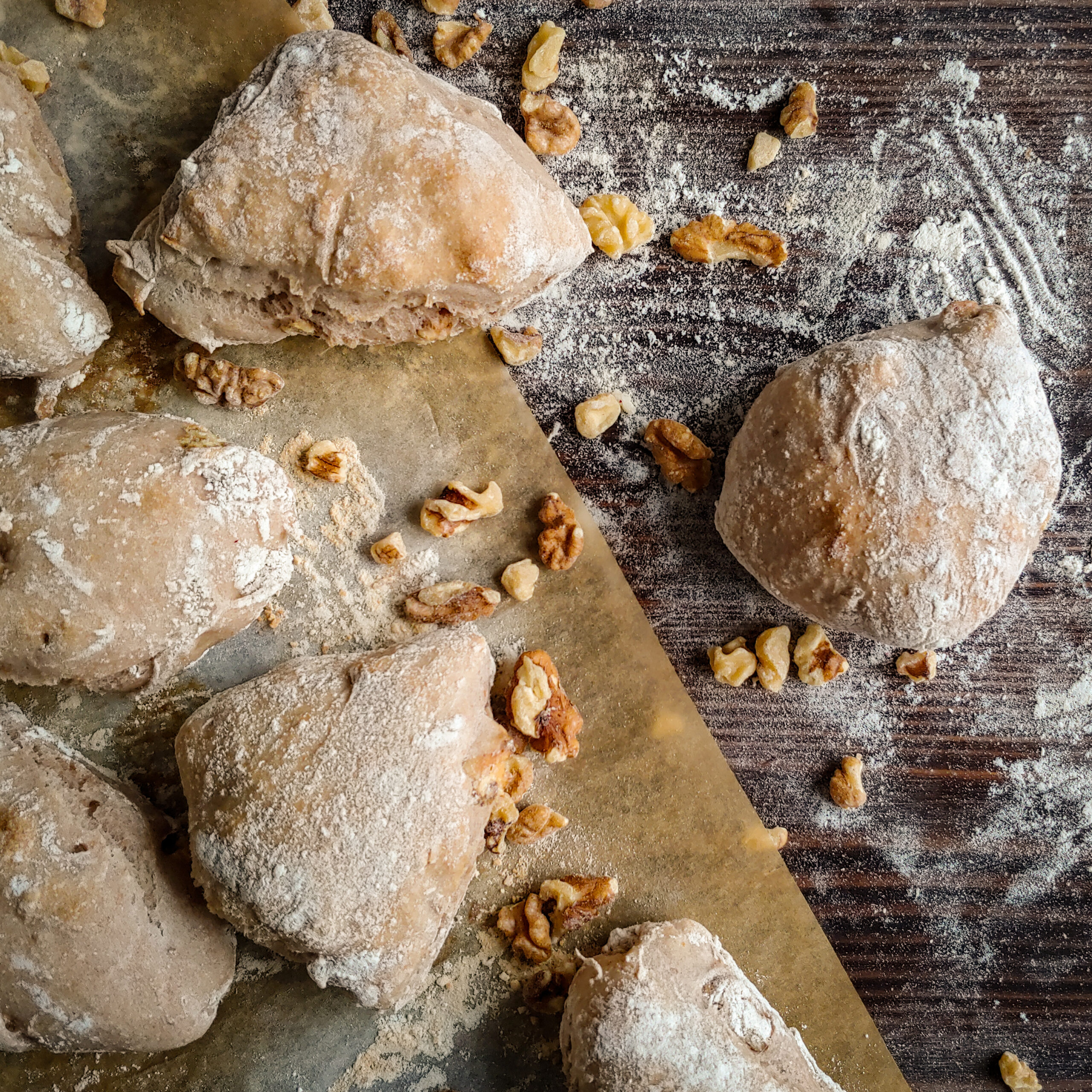 Valnötsbröd recipe walnuts bread