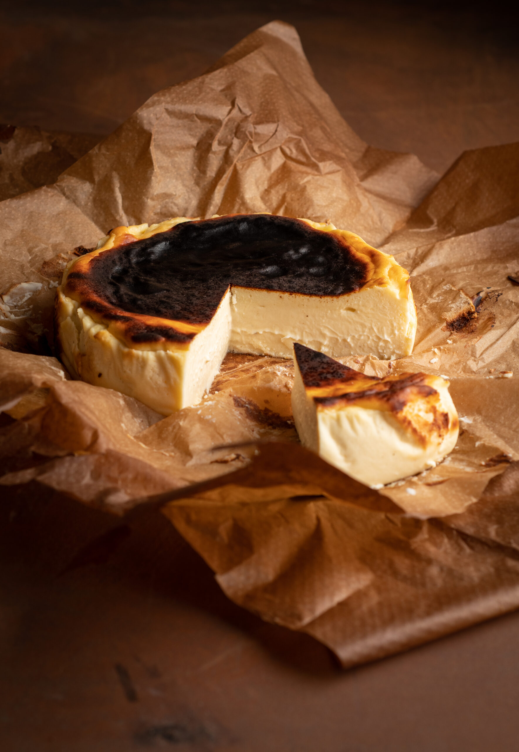 Basque cheesecake bakalite.se 2