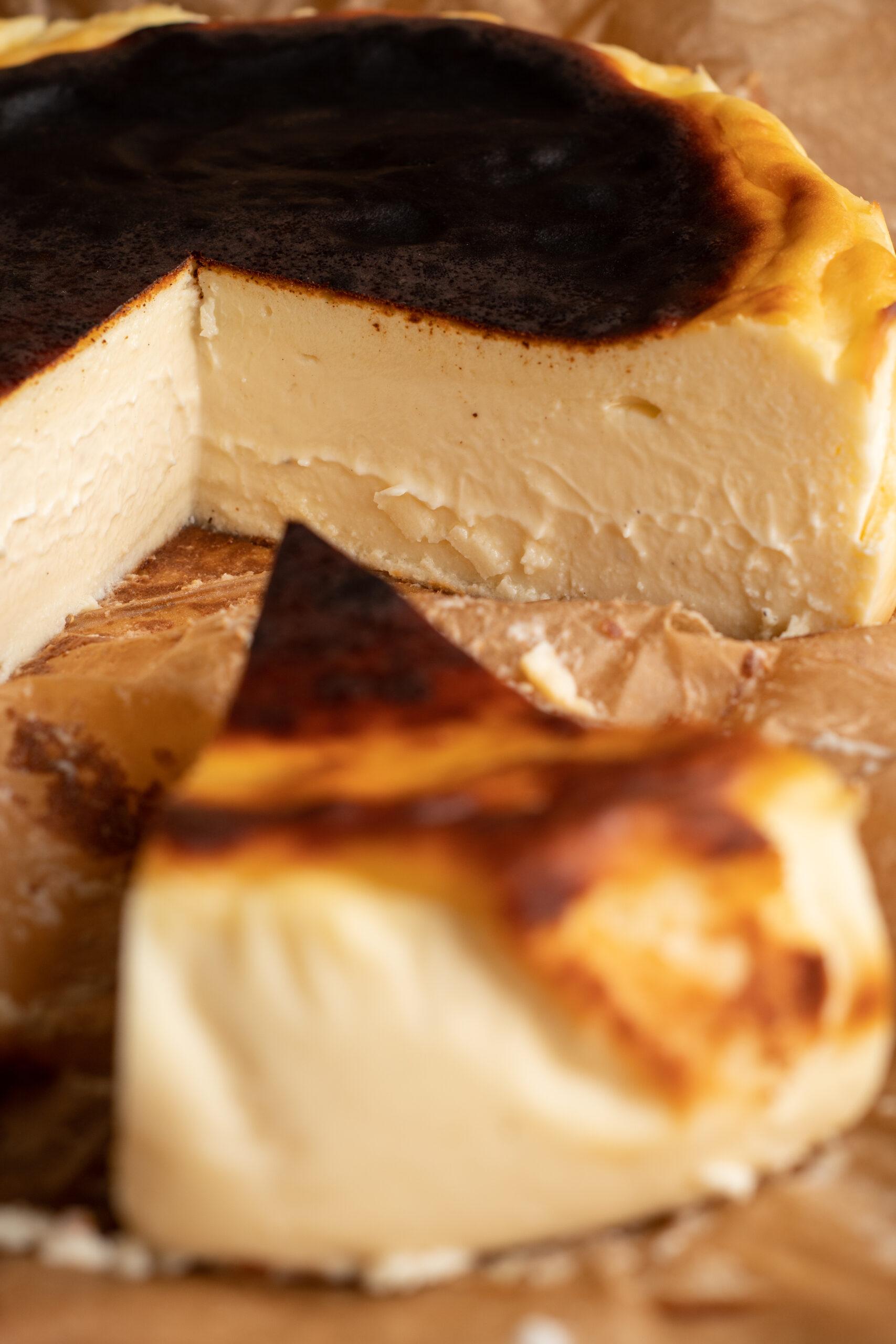 Basque cheesecake bakalite.se 4