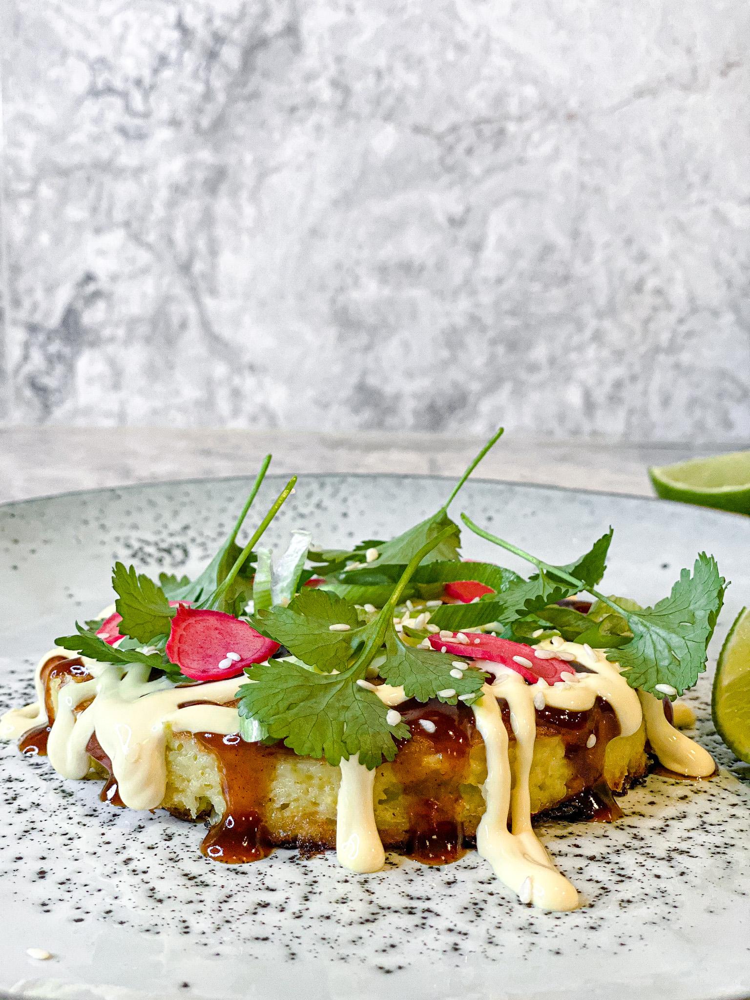 Okonomiyaki sidan