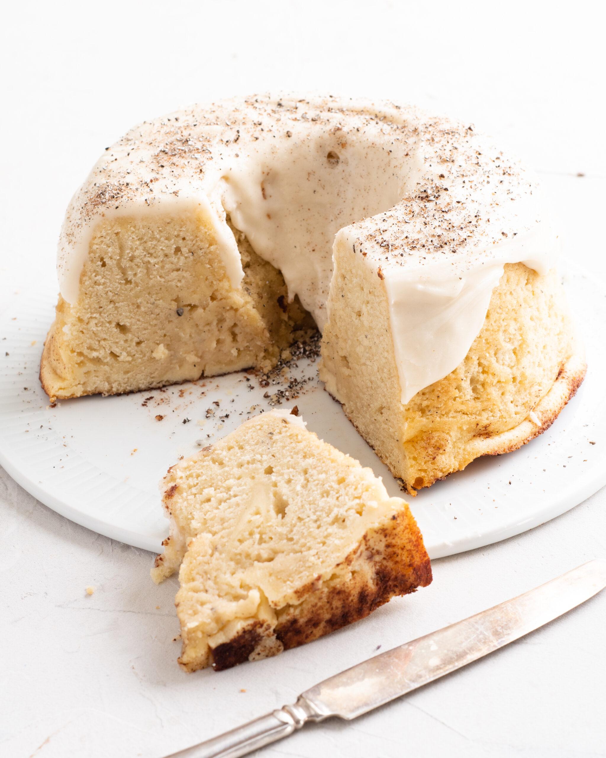 Kardemummakaka cheesecake bakalite.se 1