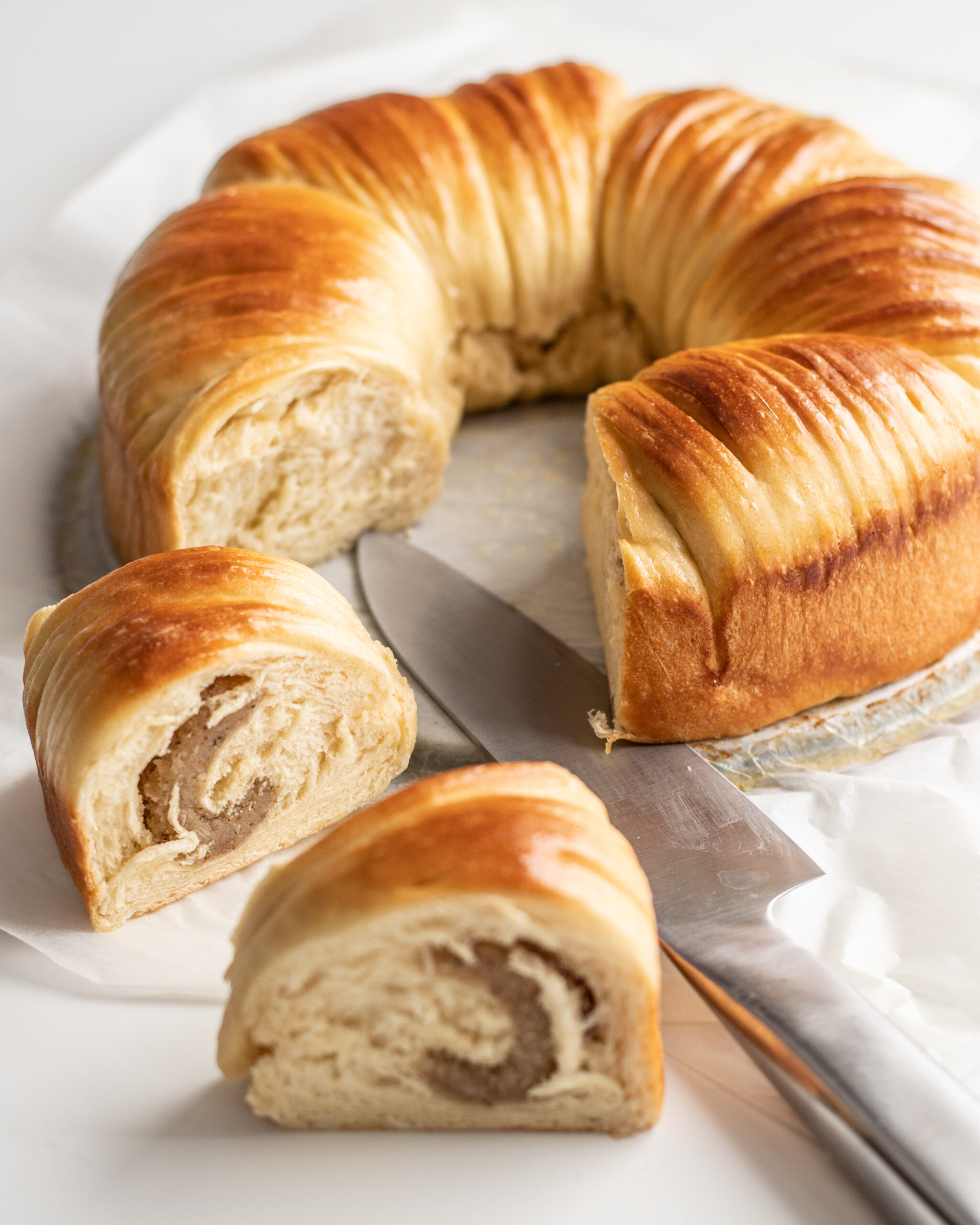 Wool roll bread mandelmassa bakalite.se 3